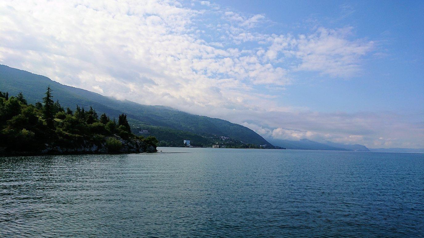 北マケドニアのオフリド湖でクルーズ!3