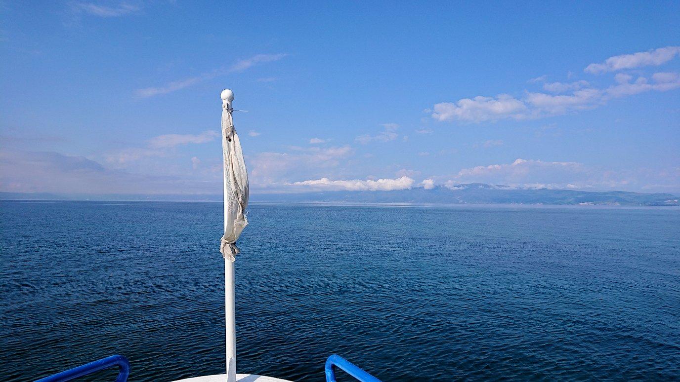 北マケドニアのオフリド湖でクルーズ!4