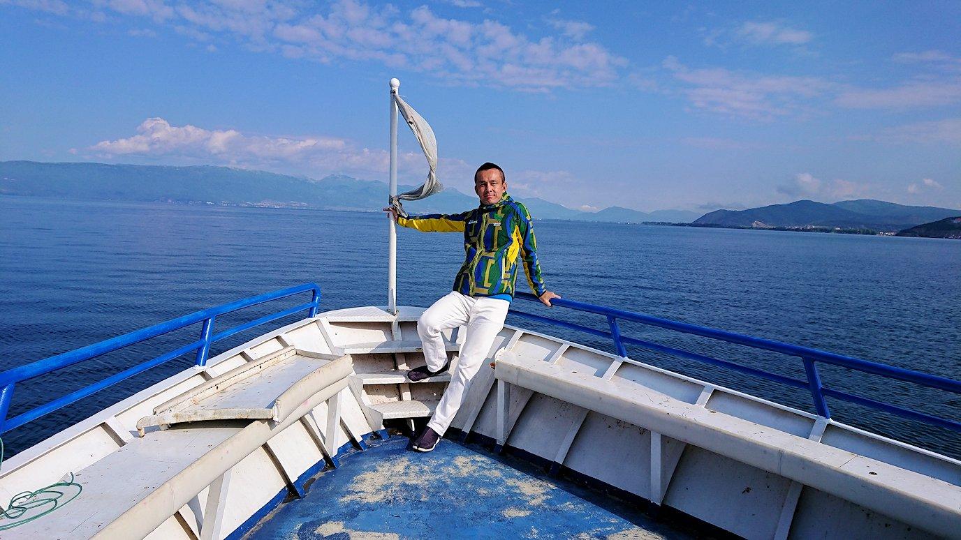 北マケドニアのオフリド湖でクルーズ!7
