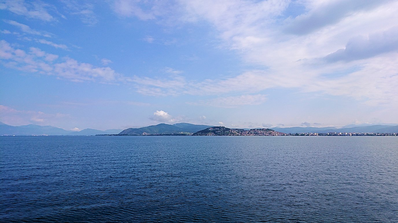 北マケドニアのオフリド湖でクルーズ!8+9