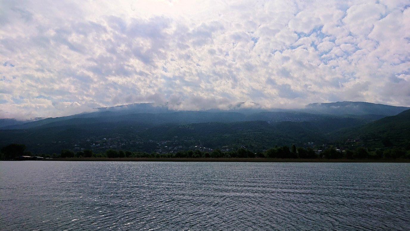 北マケドニアのオフリド湖クルーズを楽しむ4