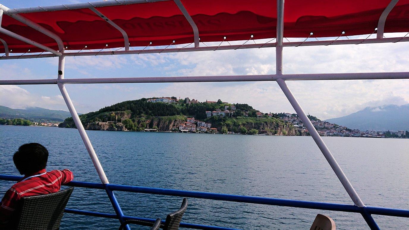 北マケドニアのオフリド湖クルーズを楽しむ6