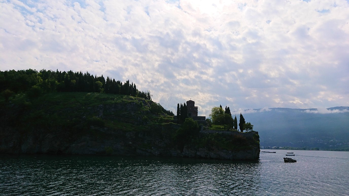 北マケドニアのオフリド湖クルーズを楽しむ7