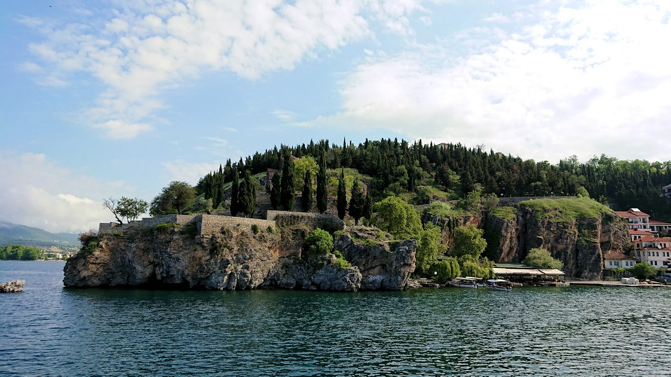 北マケドニアのオフリド湖クルーズを楽しむ8