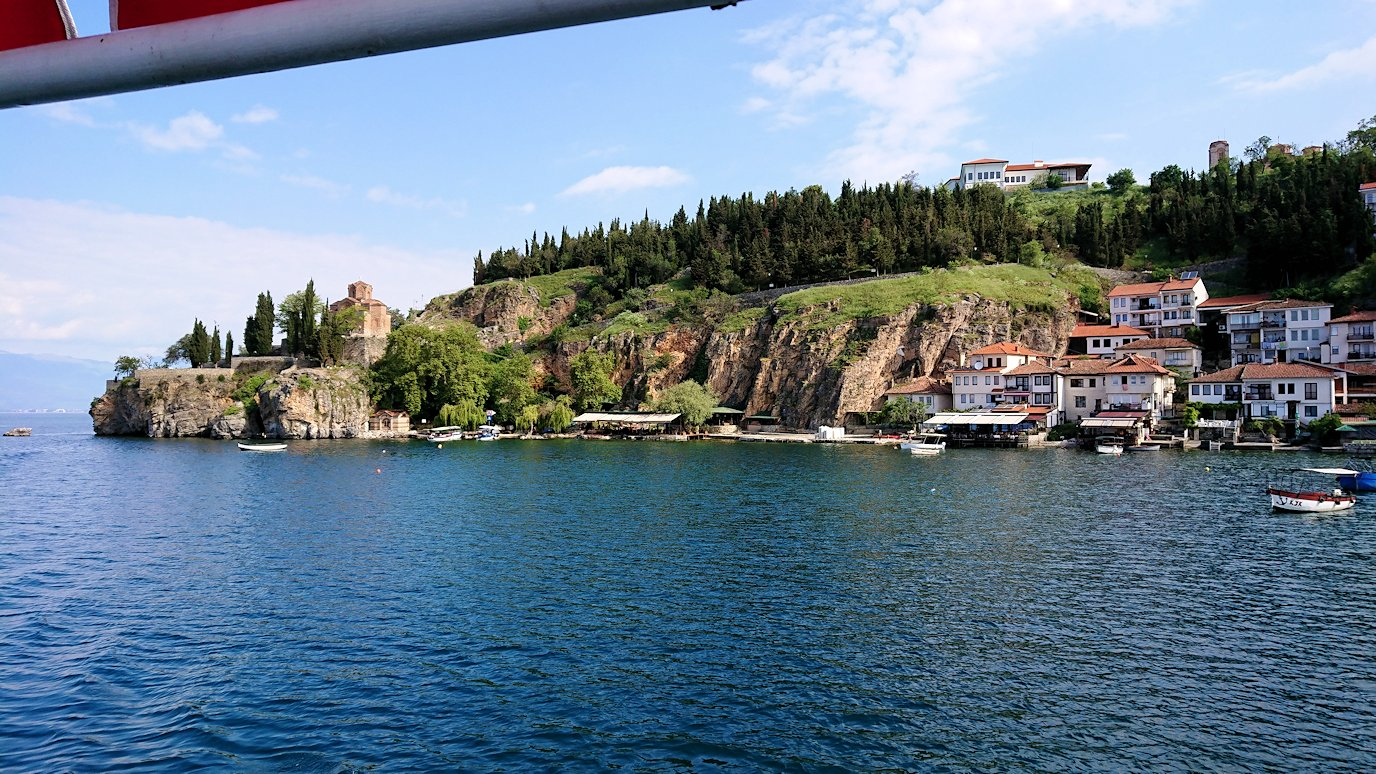 北マケドニアのオフリド湖でまったりと7