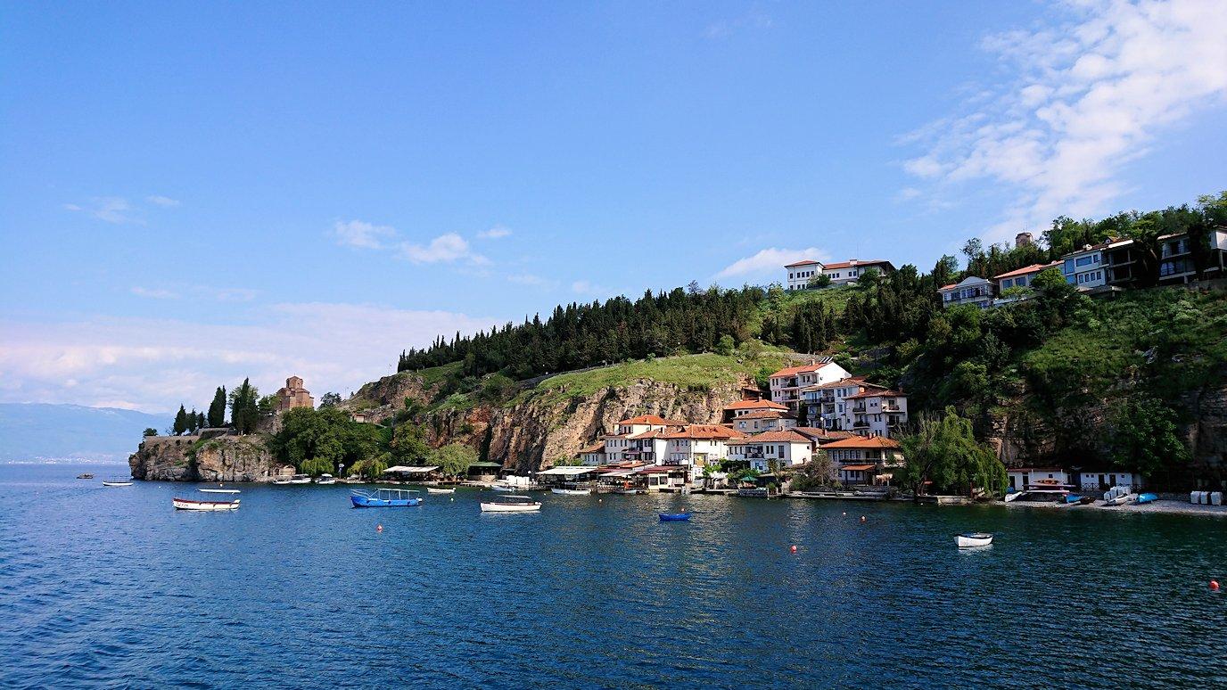 北マケドニアのオフリド湖でまったりと8