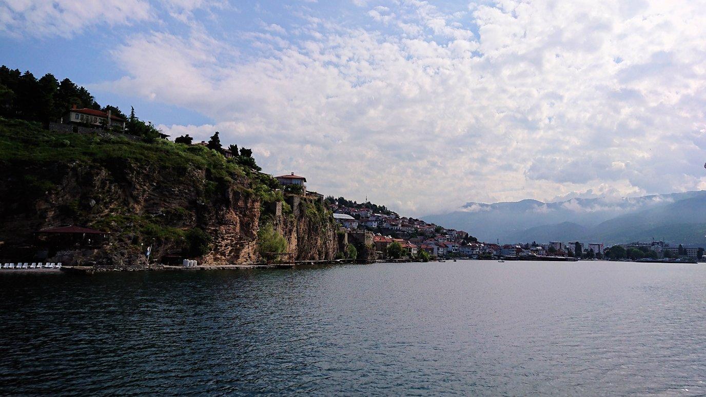 北マケドニアのオフリド湖でまったりと