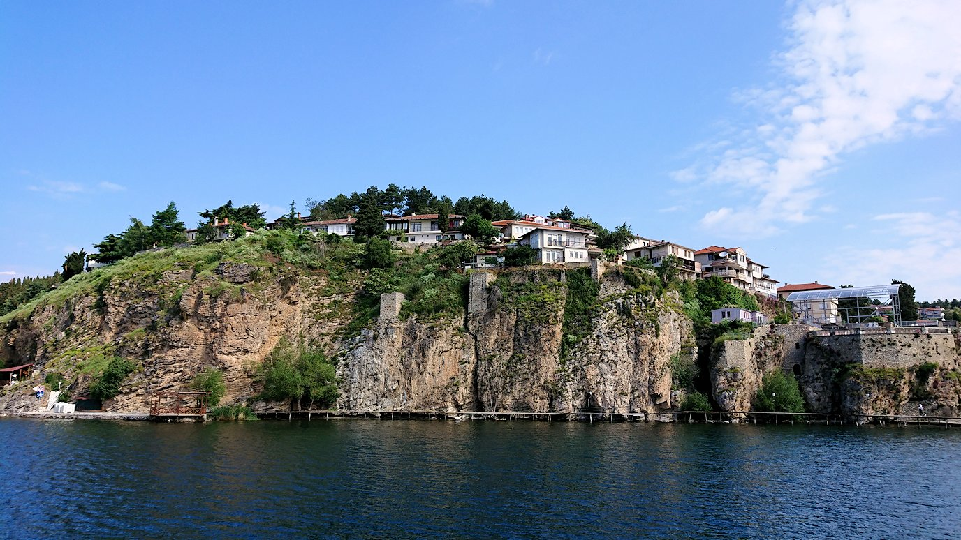 北マケドニアのオフリド湖でまったりと1
