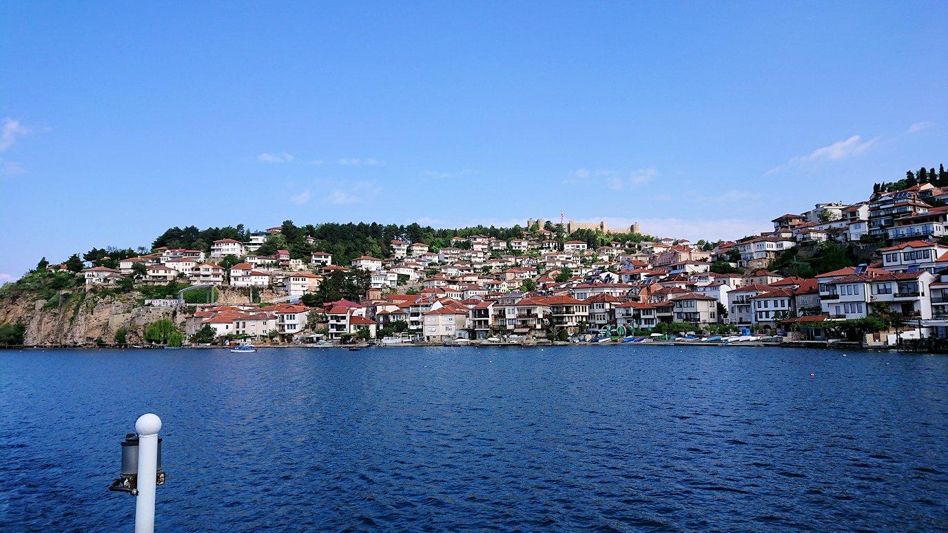 北マケドニアのオフリド湖でまったりと3