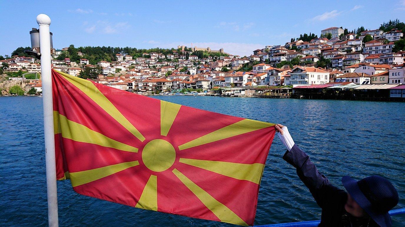 北マケドニアのオフリド湖でまったりと4