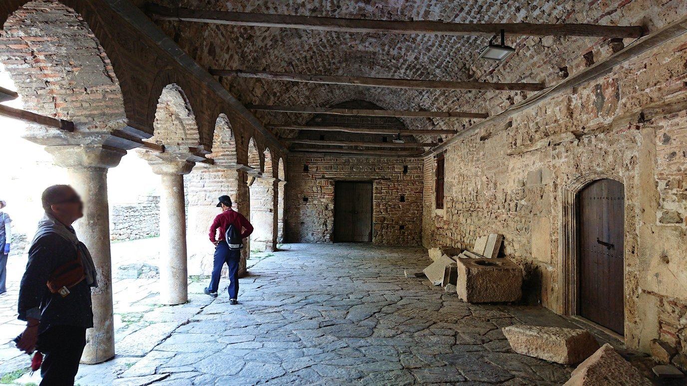 北マケドニアのオフリドで再び聖ソフィア教会を見学3