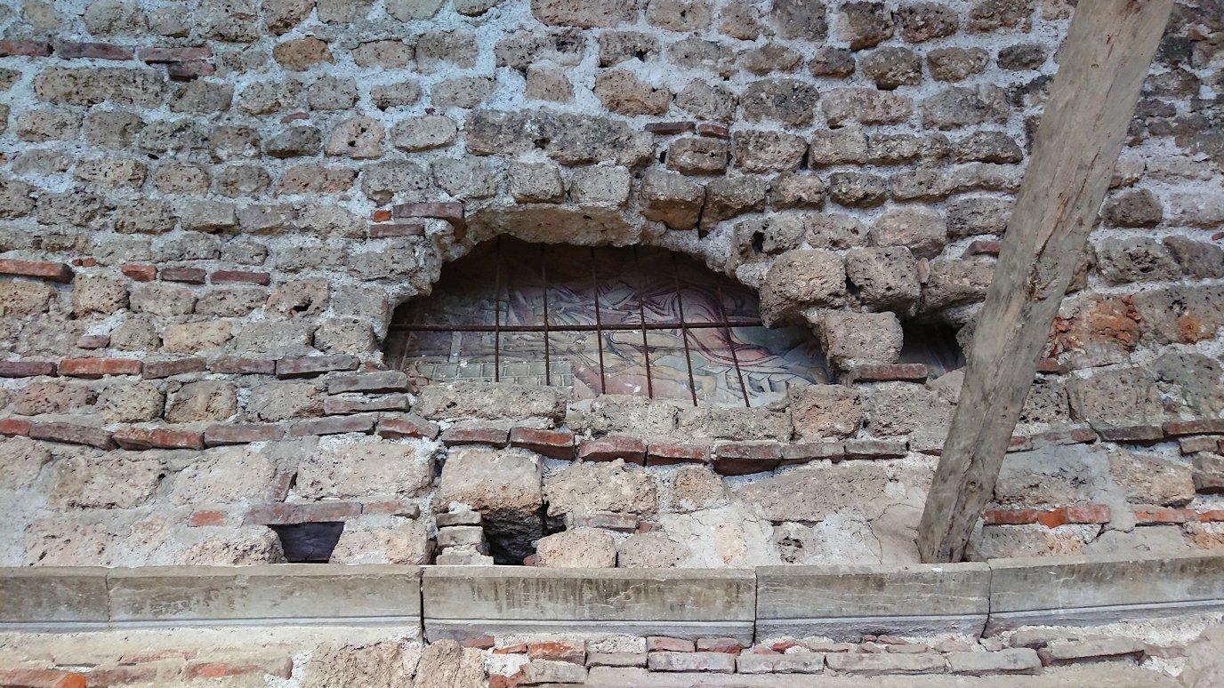 北マケドニアのオフリドで再び聖ソフィア教会を見学4