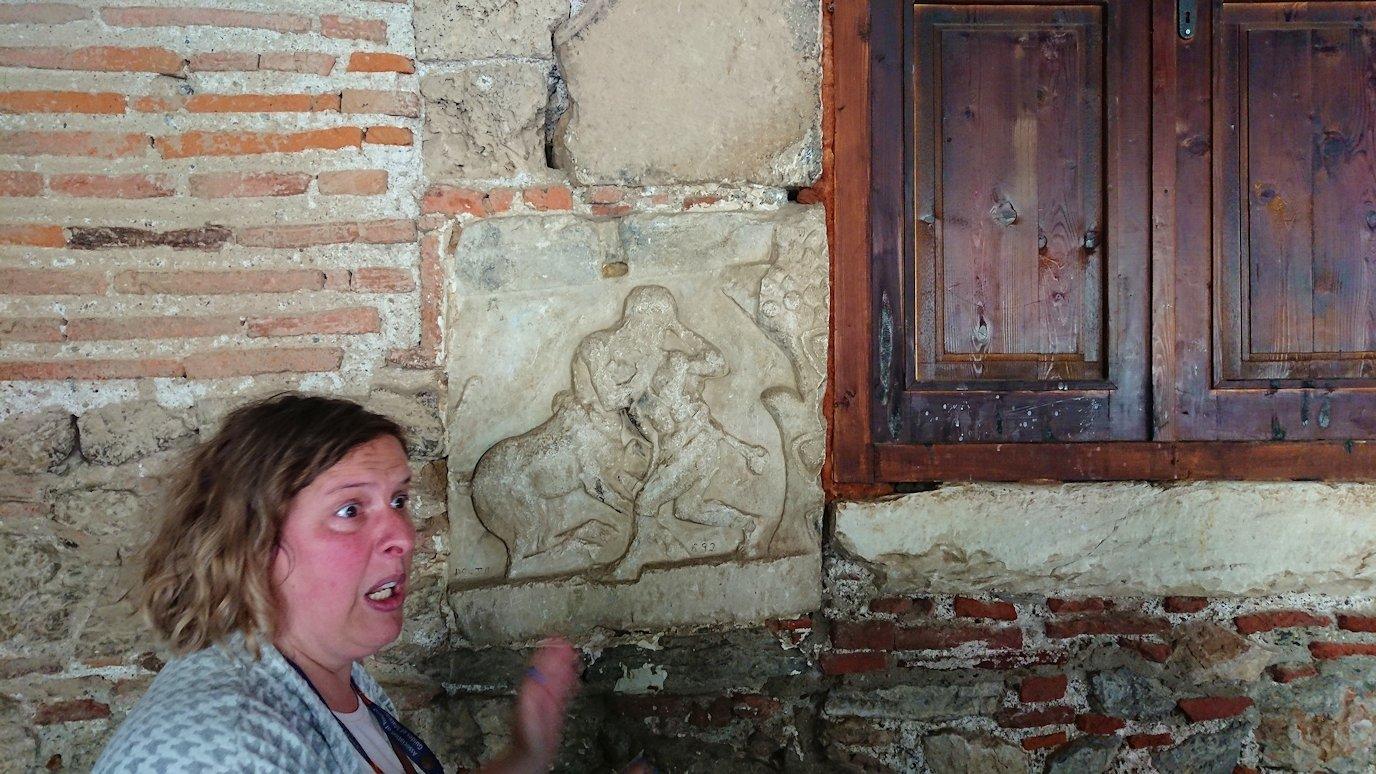 北マケドニアのオフリドで再び聖ソフィア教会を見学5