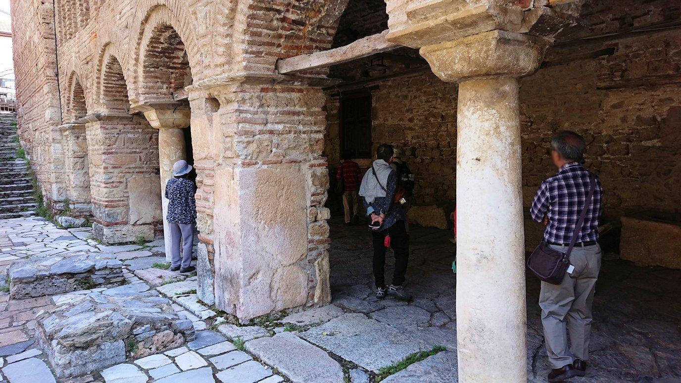 北マケドニアのオフリドで再び聖ソフィア教会を見学9