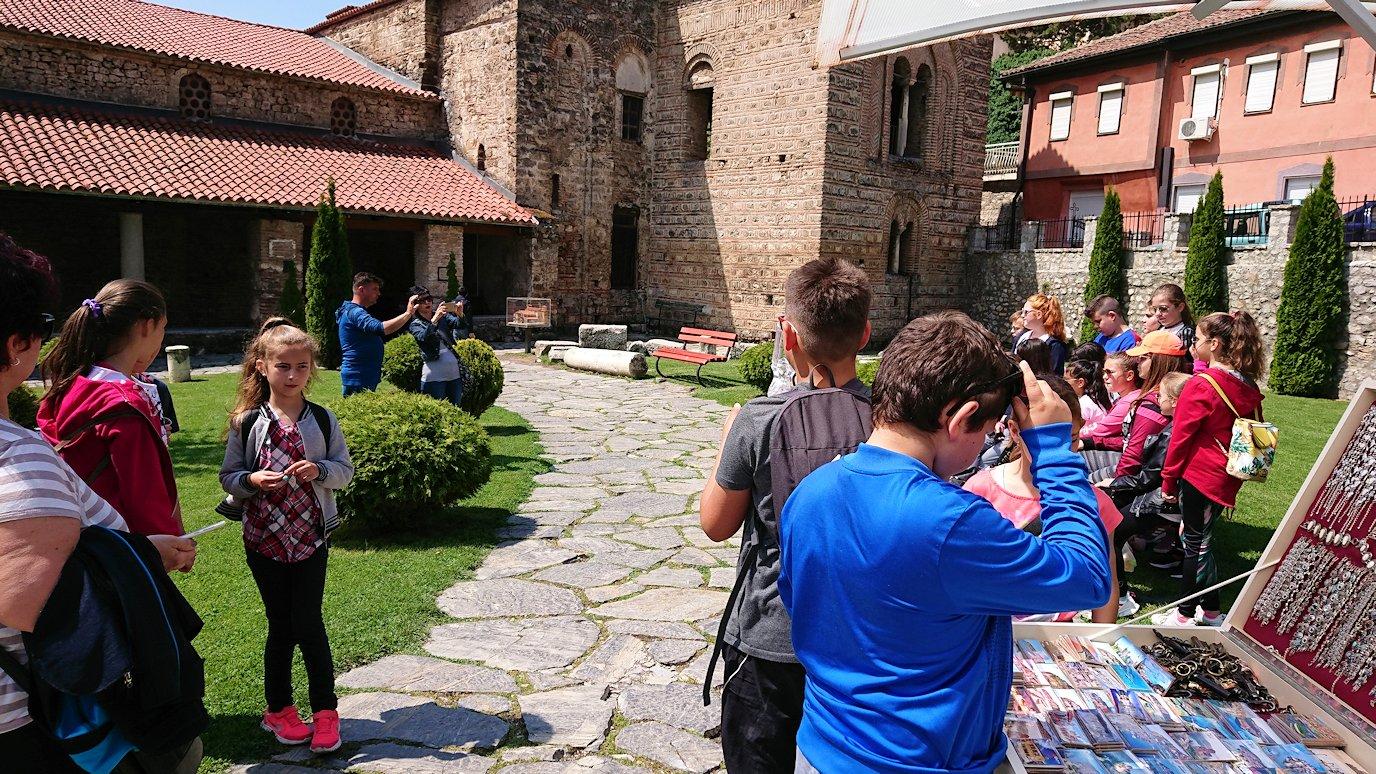北マケドニアのオフリドで再び聖ソフィア教会辺りでのんびりと