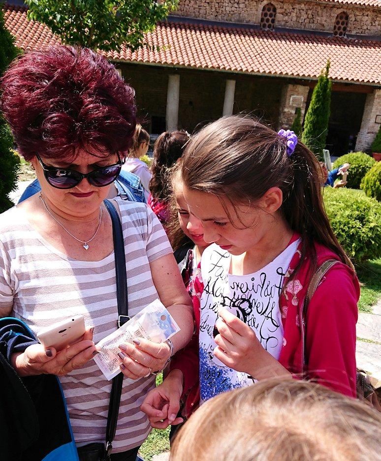北マケドニアのオフリドで再び聖ソフィア教会辺りでのんびりと2