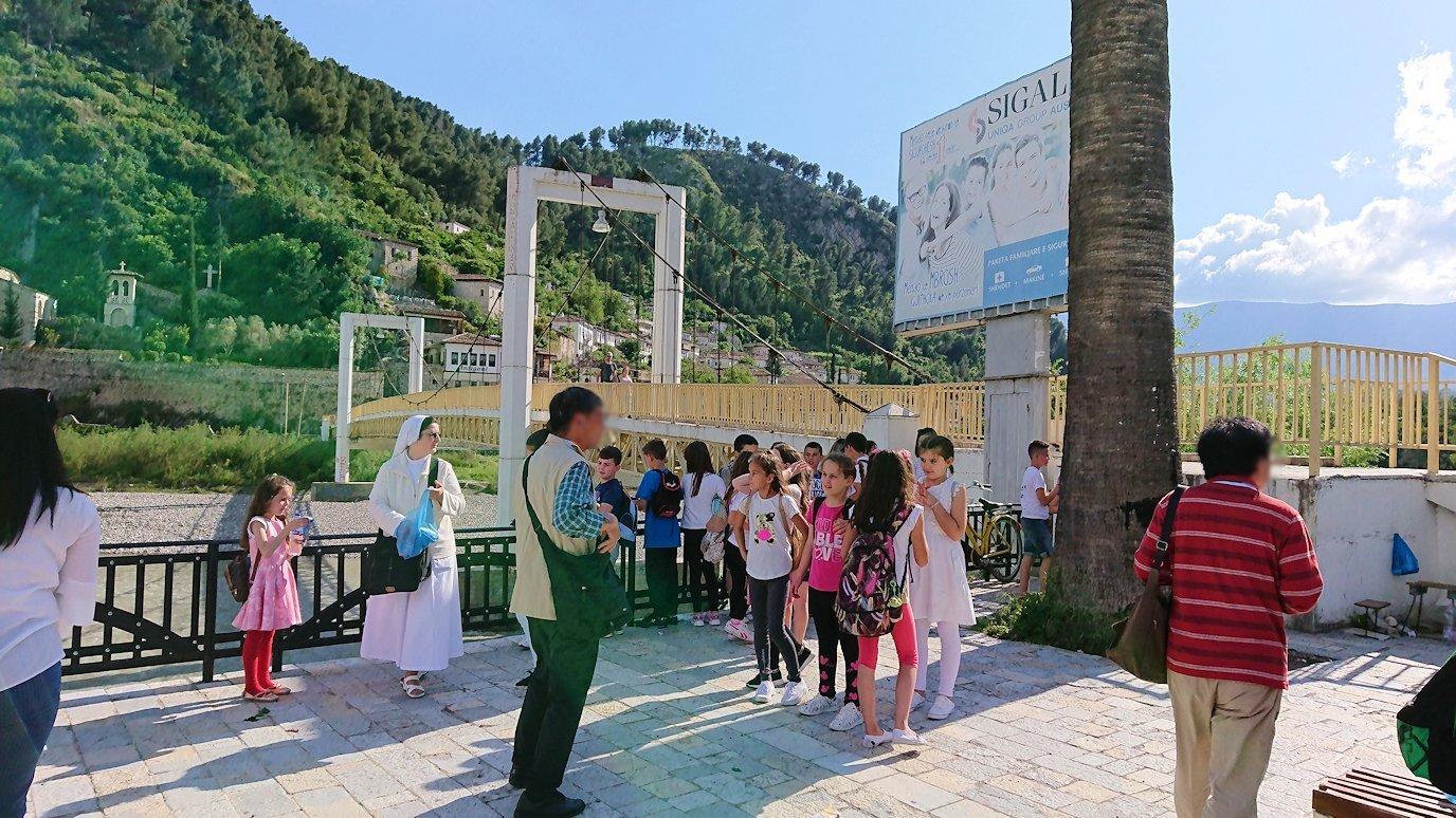 アルバニアで世界遺産のベラトの街に到着5