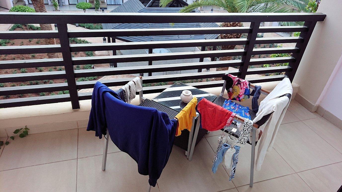 マラケシュのアダムパークホテルにて朝食バイキングで朝食を食べますよ9