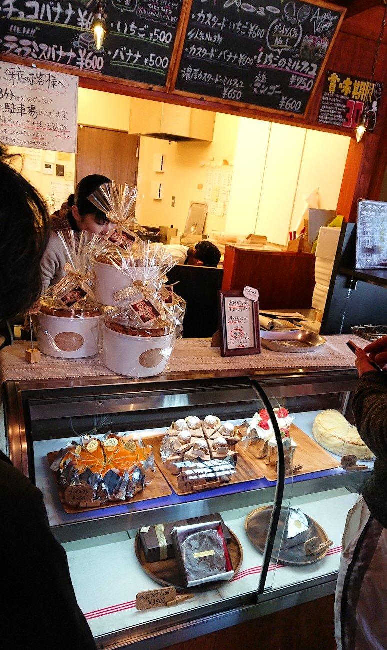 函館市内で人気のスイーツ店「アンジェリック ヴォヤージュ」を訪問4