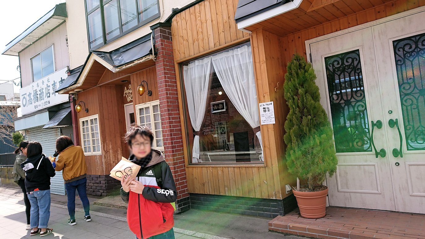 函館市内で人気のスイーツ店「アンジェリック ヴォヤージュ」を訪問8