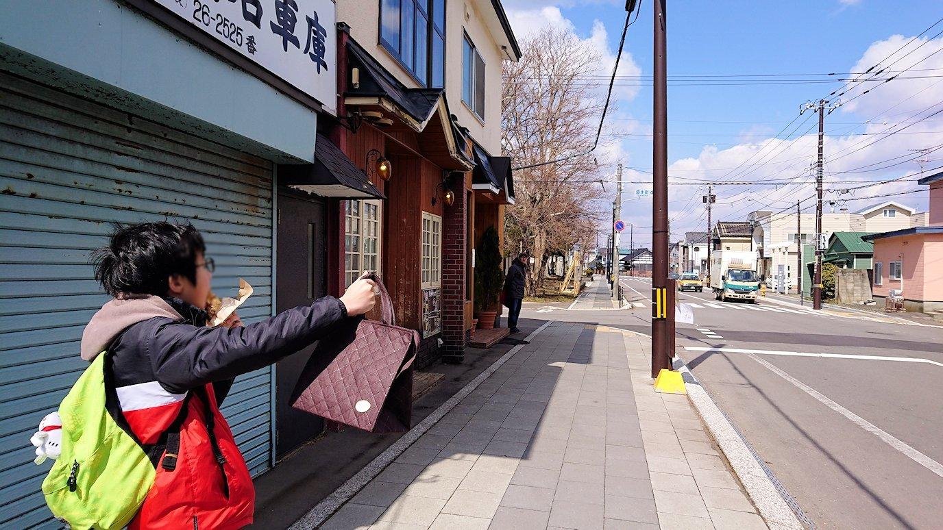函館市内で人気のスイーツ店「アンジェリック ヴォヤージュ」を訪問しマンゴークレープを食べる4