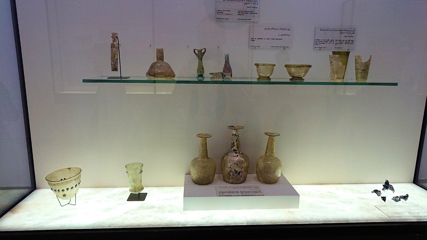 チュニスのバルドー博物館でモザイクを見学1
