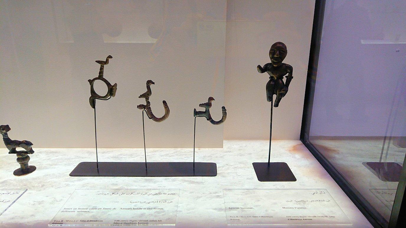 チュニスのバルドー博物館でモザイクを見学2