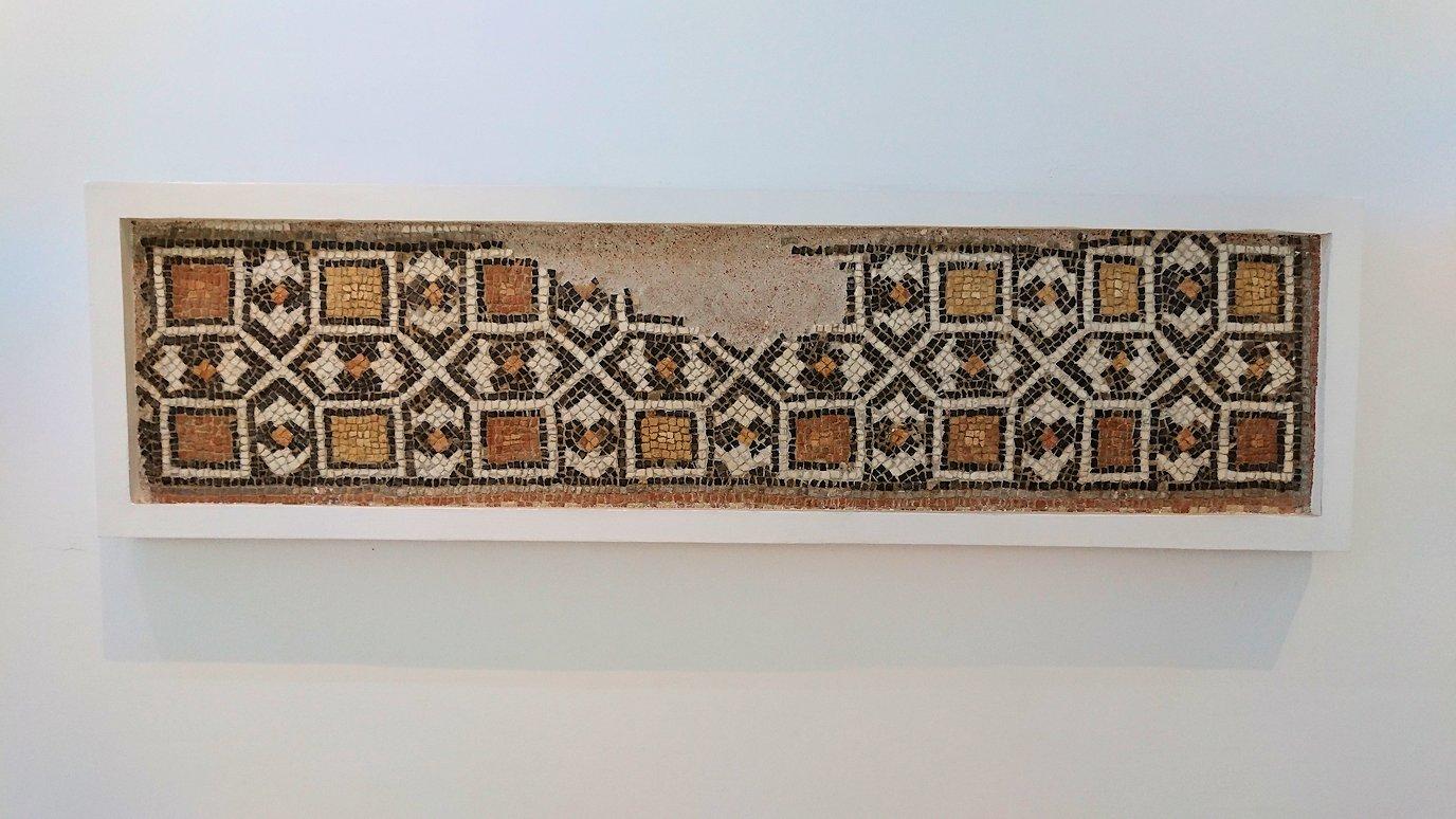 チュニスのバルドー博物館でモザイクを見学3
