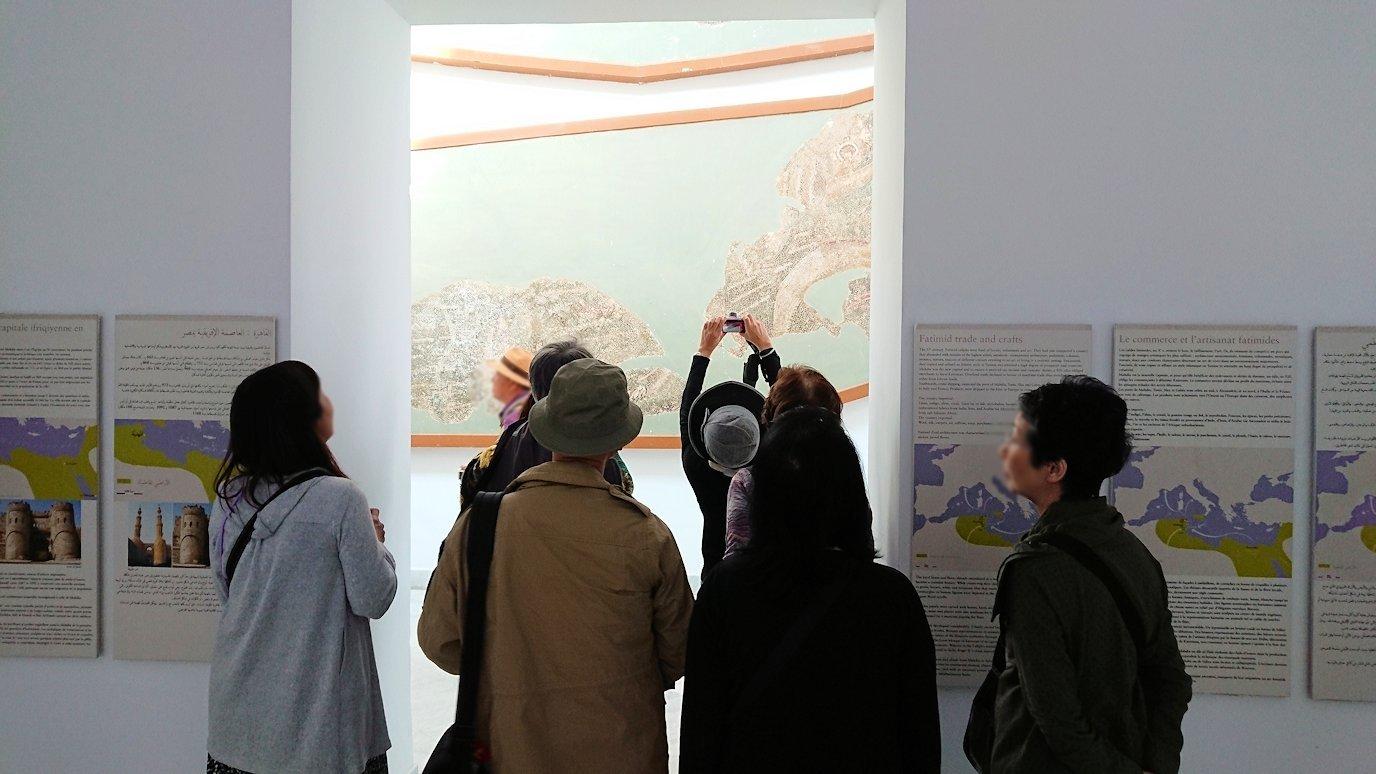 チュニスのバルドー博物館でモザイクを見学5