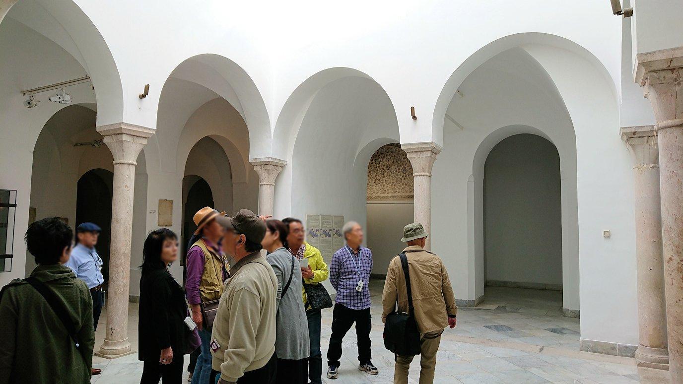 チュニスのバルドー博物館でモザイクを見学9