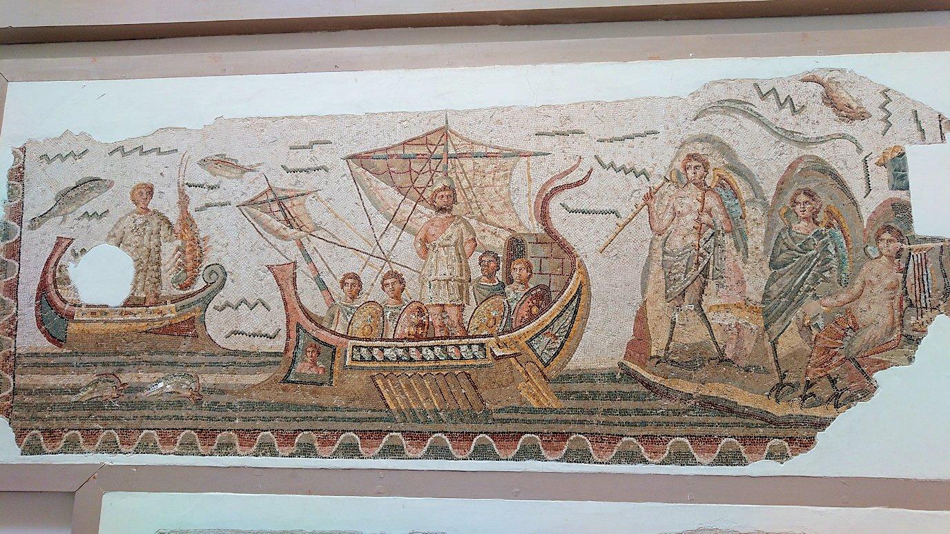 チュニスのバルドー博物館はモザイク作品で溢れています1