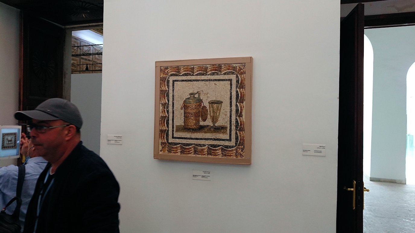 チュニスのバルドー博物館はモザイク作品で溢れています2