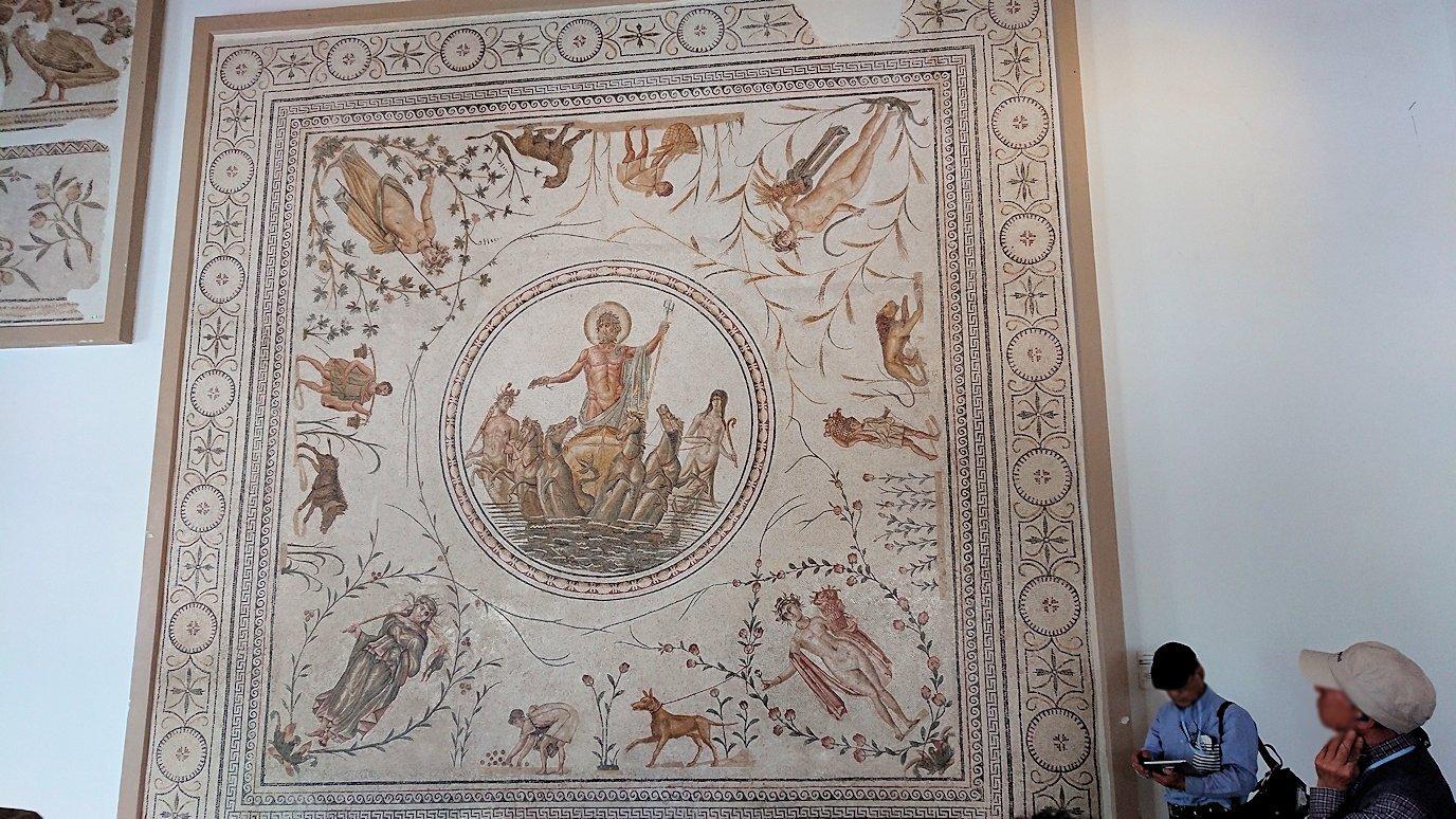 チュニスのバルドー博物館はモザイク作品で溢れています6