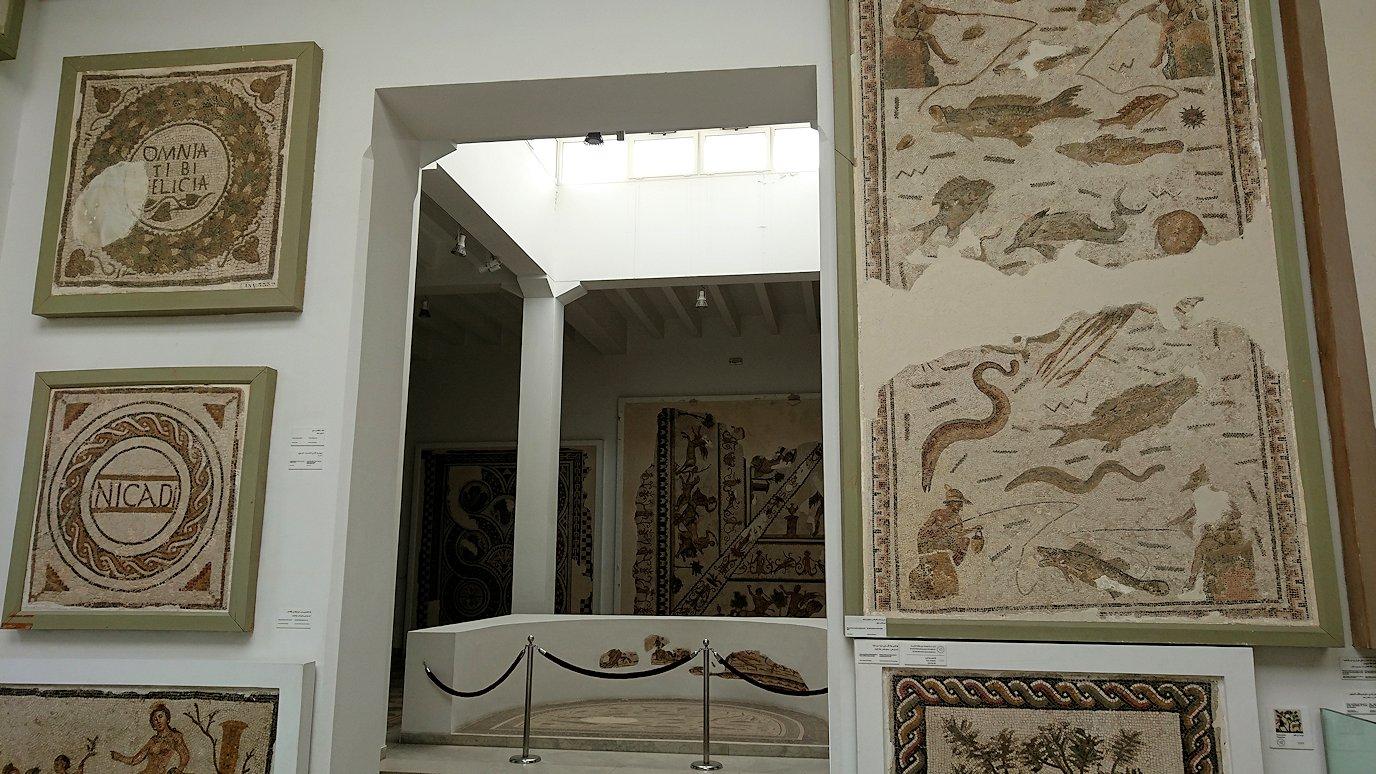 チュニスのバルドー博物館で2階も見所たっぷり