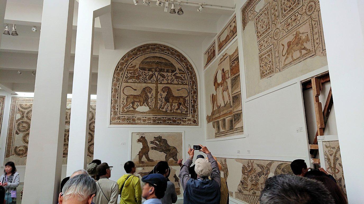 チュニスのバルドー博物館で2階も見所たっぷり1