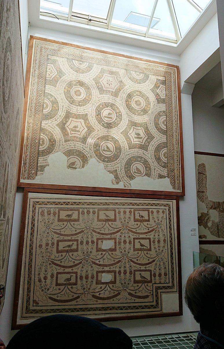 チュニスのバルドー博物館で2階も見所たっぷり2