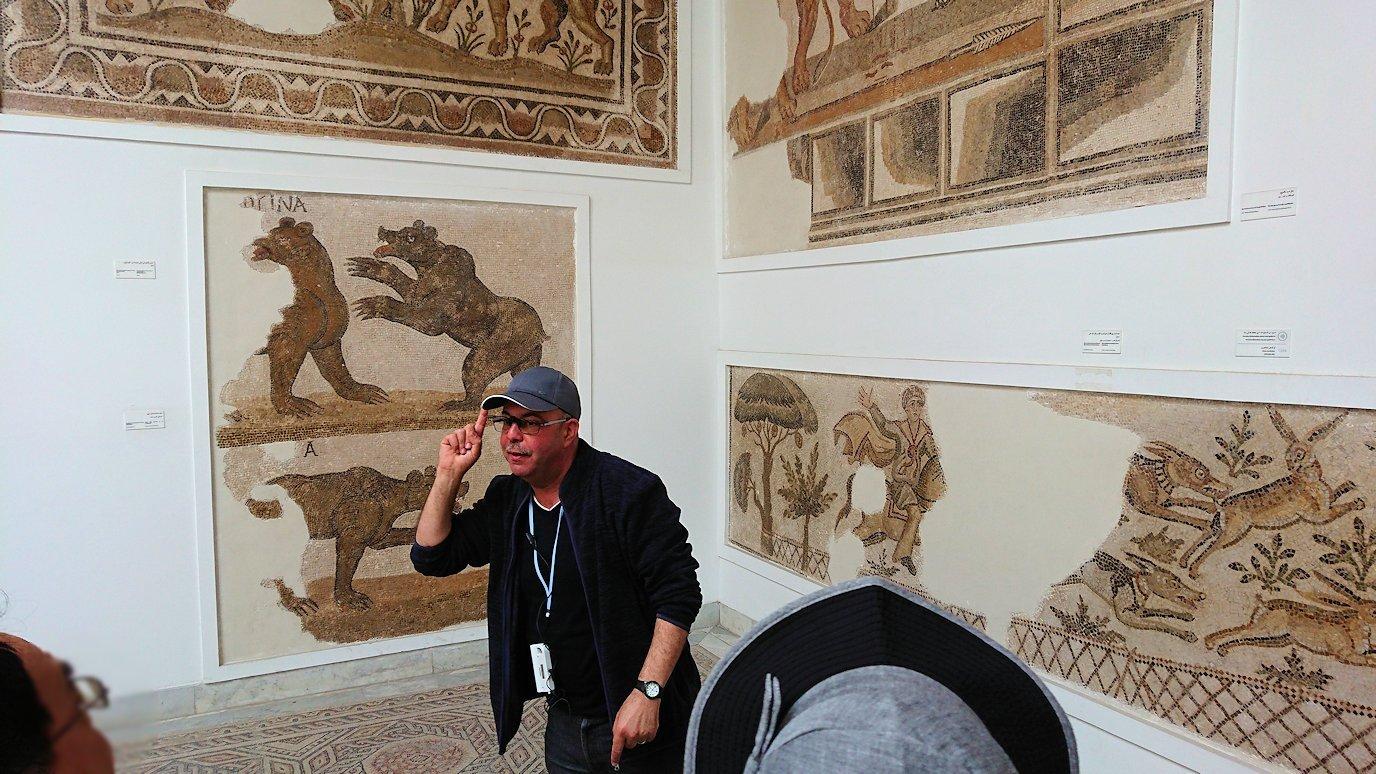 チュニスのバルドー博物館で2階も見所たっぷり5