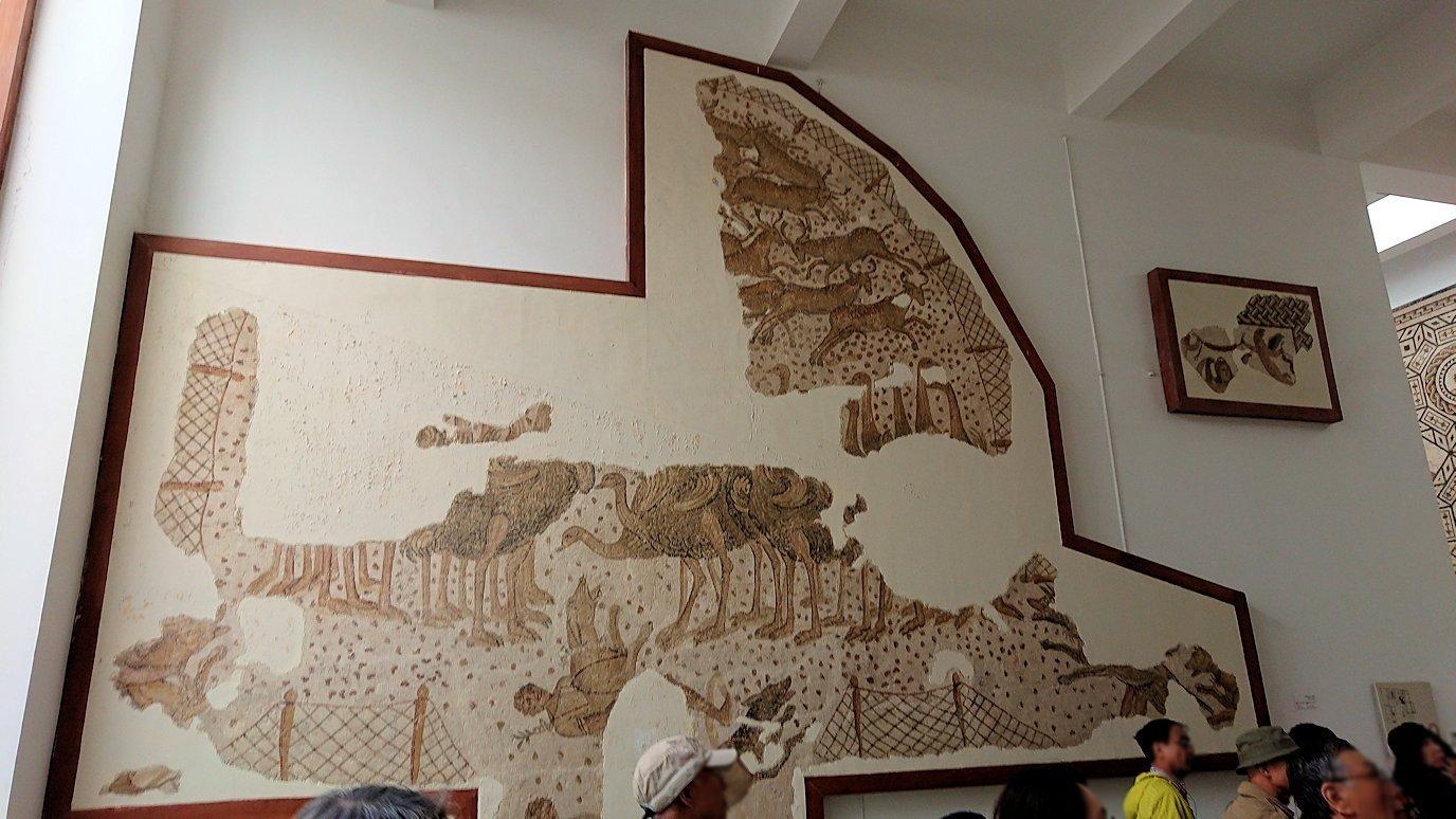 チュニスのバルドー博物館で2階も見所たっぷり8