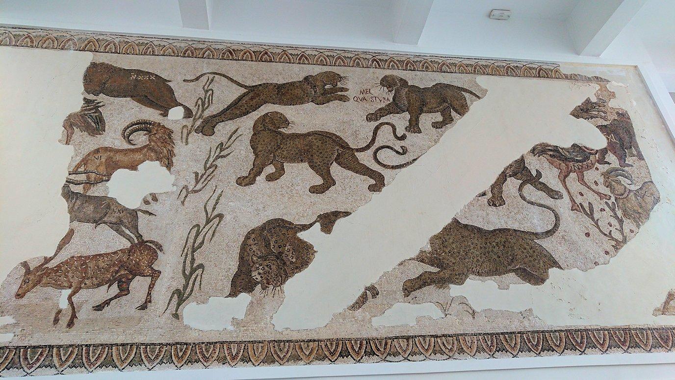 チュニスのバルドー博物館で2階も見所たっぷりで見学して回る1