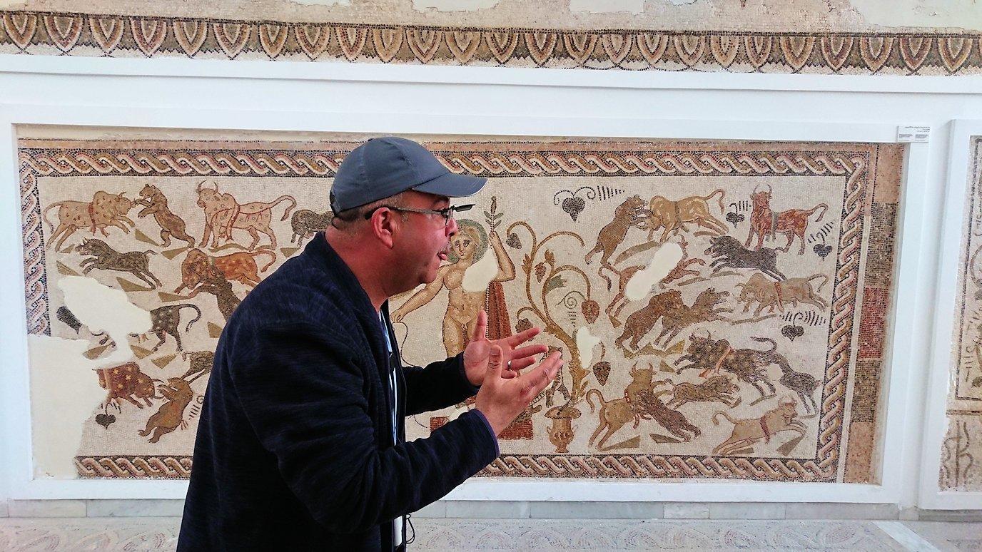 チュニスのバルドー博物館で2階も見所たっぷりで見学して回る2