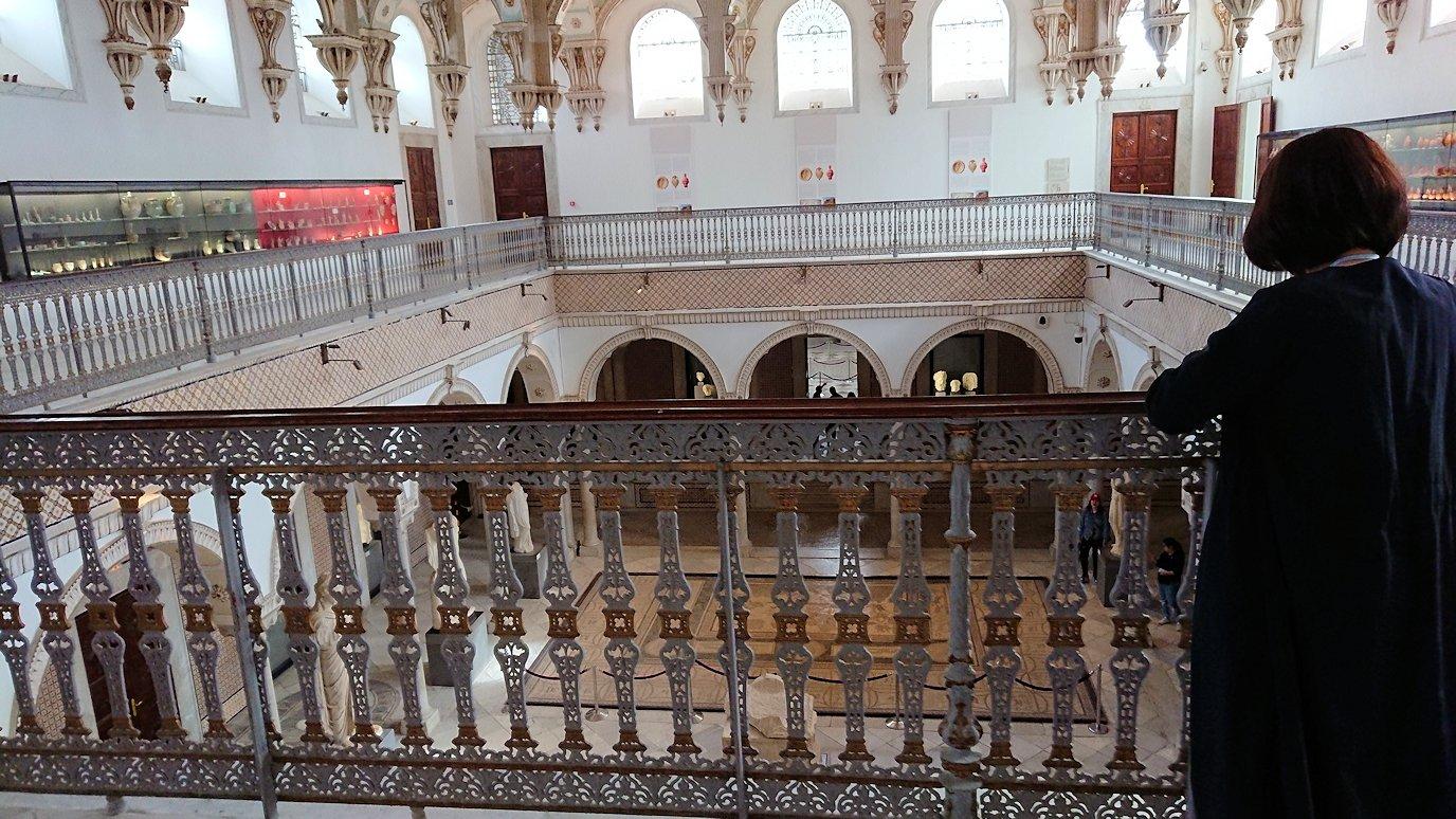 チュニスのバルドー博物館で2階も見所たっぷりで見学して回る7