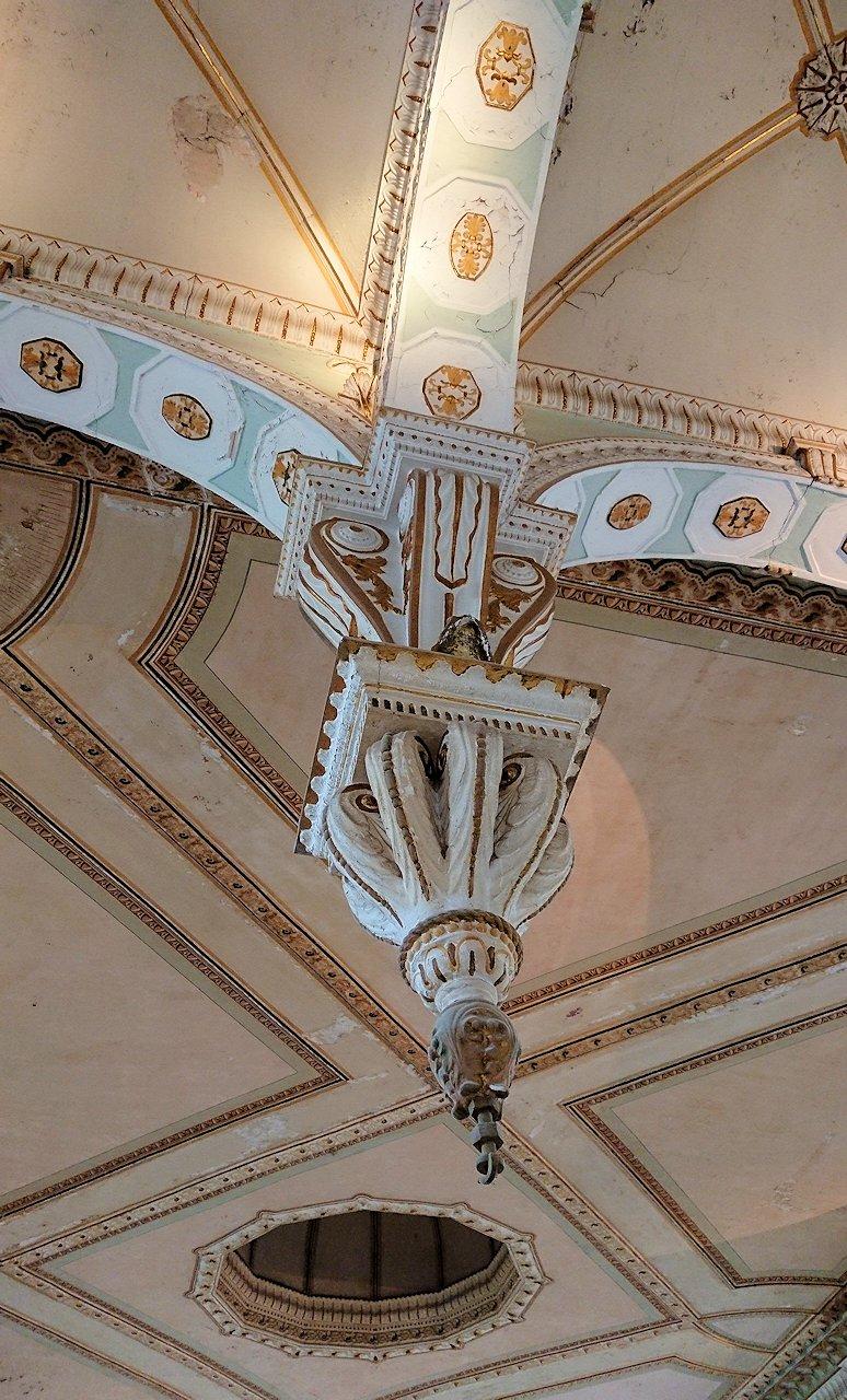 チュニスのバルドー博物館で2階も見所たっぷりで見学する様子5