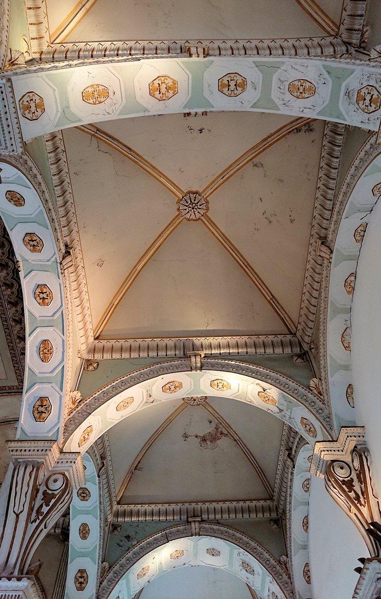 チュニスのバルドー博物館で2階も見所たっぷりで見学する様子6