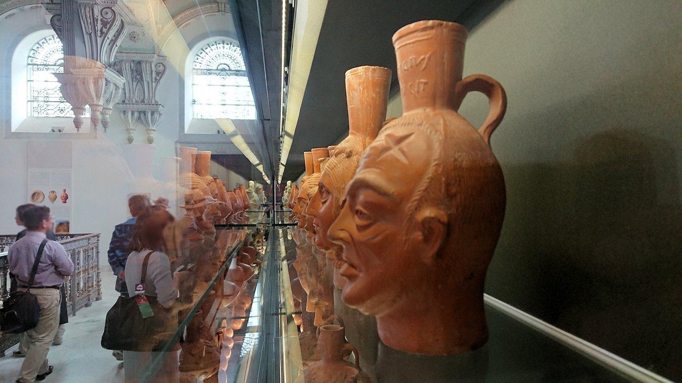 チュニスのバルドー博物館で2階の秘宝も見学していきます