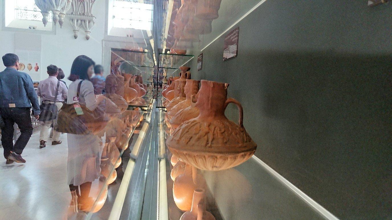 チュニスのバルドー博物館で2階の秘宝も見学していきます1