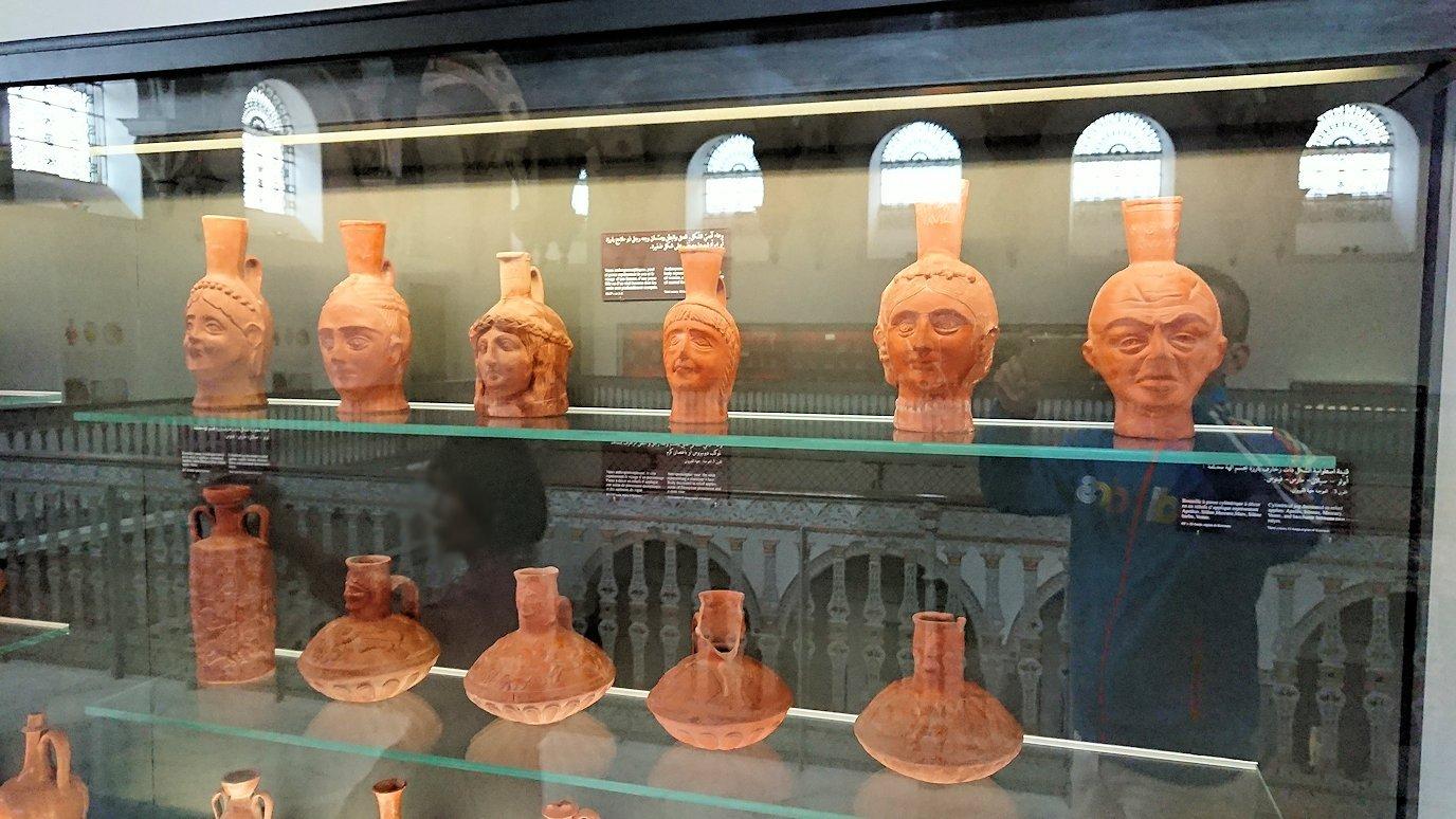 チュニスのバルドー博物館で2階の秘宝も見学していきます2
