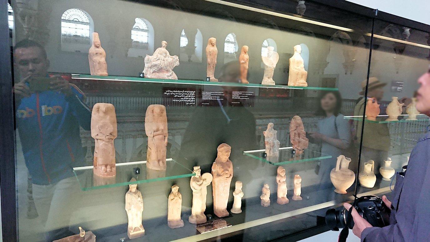 チュニスのバルドー博物館で2階の秘宝も見学していきます3