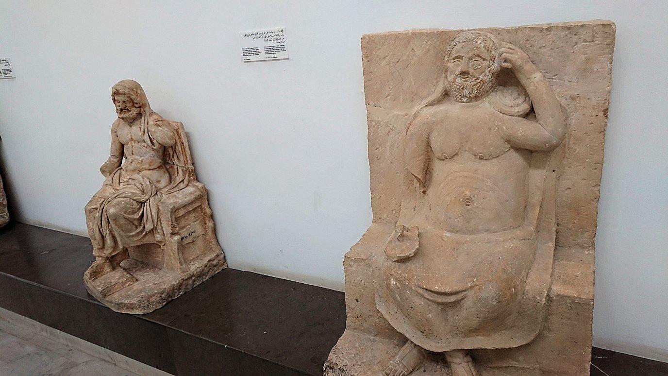 チュニスのバルドー博物館で2階の秘宝も見学していきます4