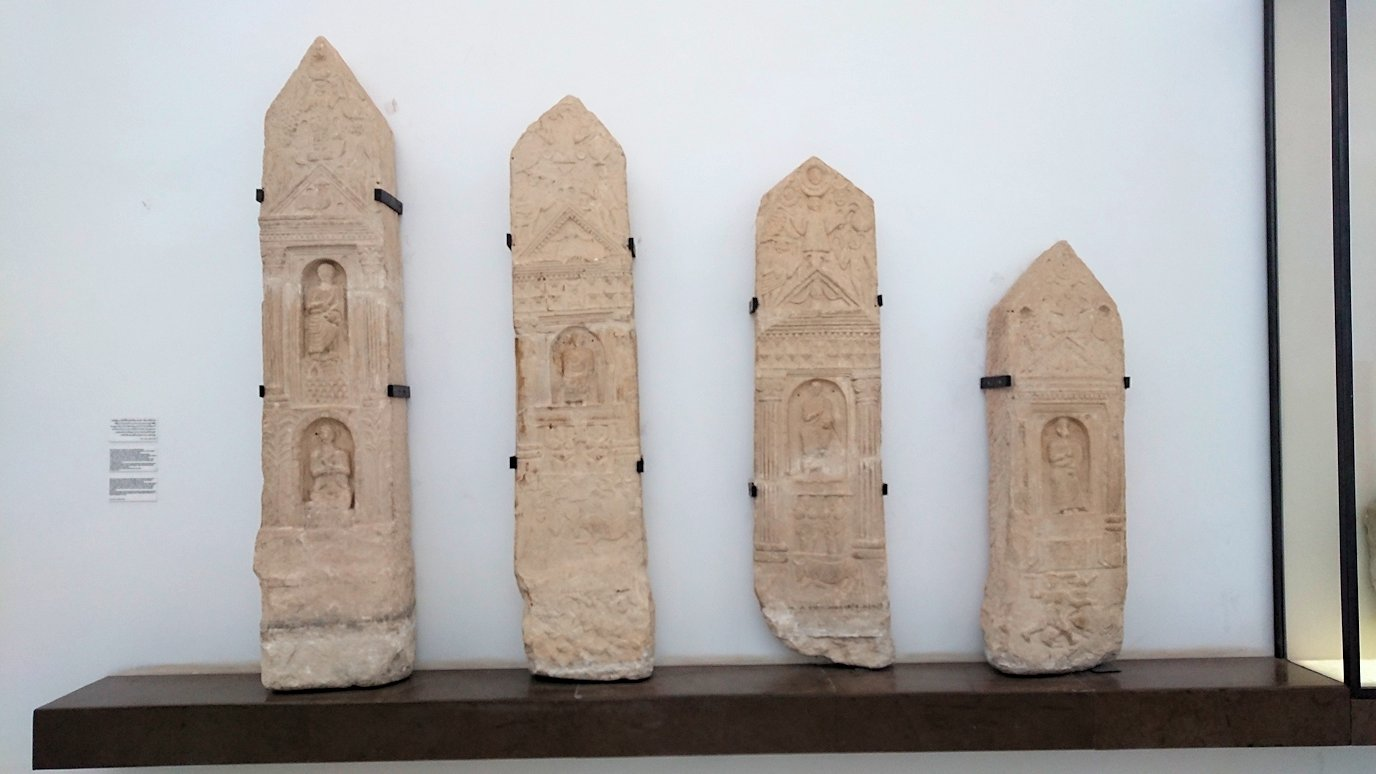 チュニスのバルドー博物館で2階の秘宝も見学していきます6