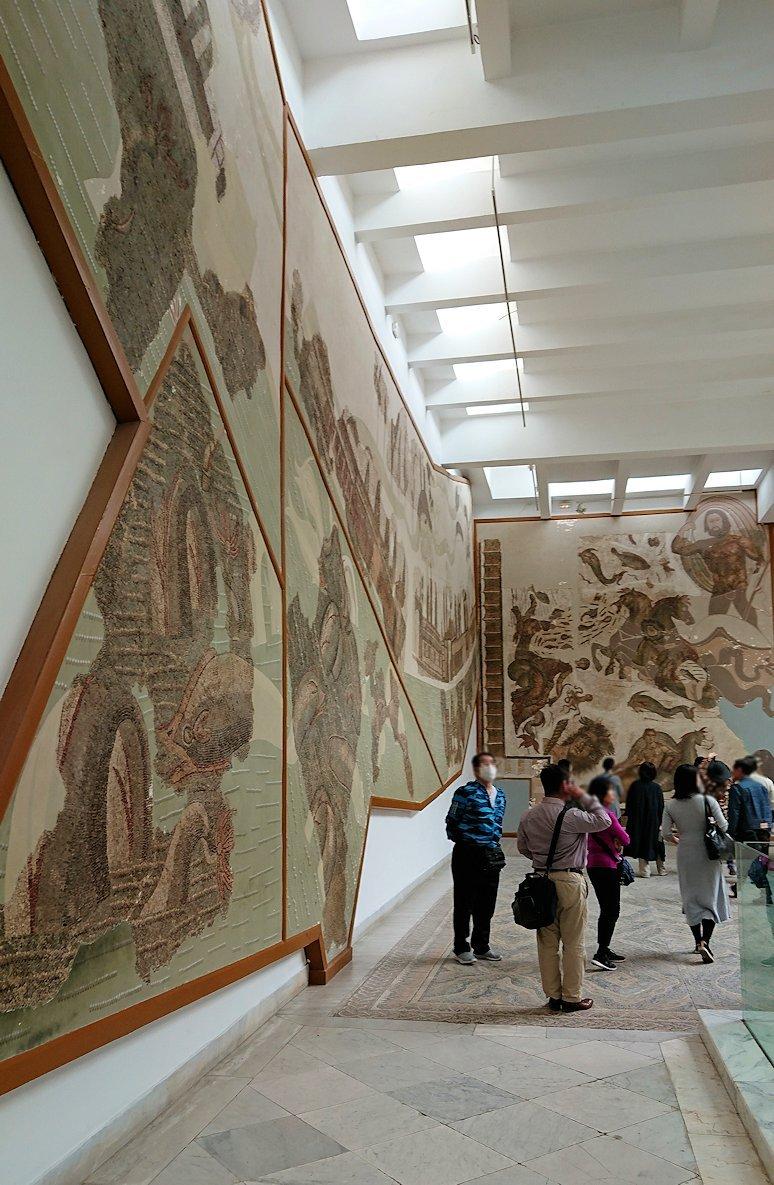 チュニスのバルドー博物館で2階の秘宝も見学していきます7
